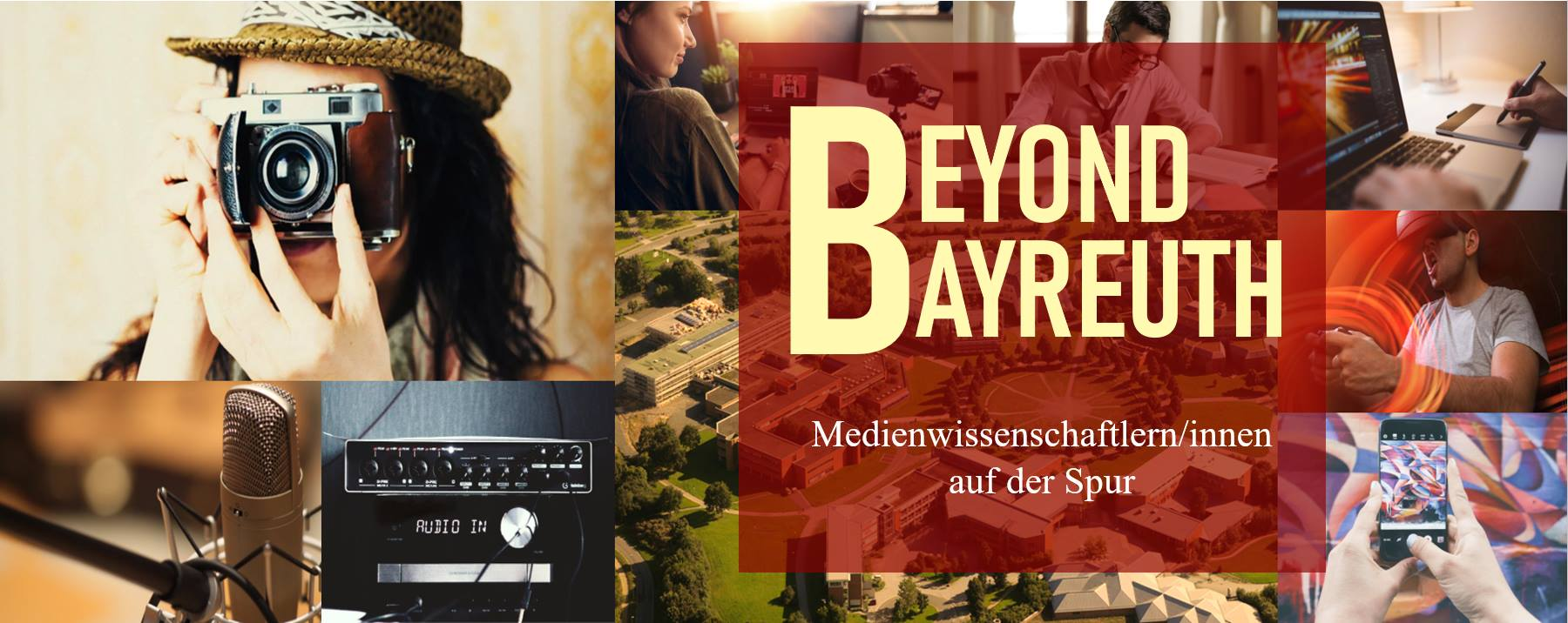 Visual von Beyond Bayreuth, MedienwissenschaftlerInnen auf der Spur